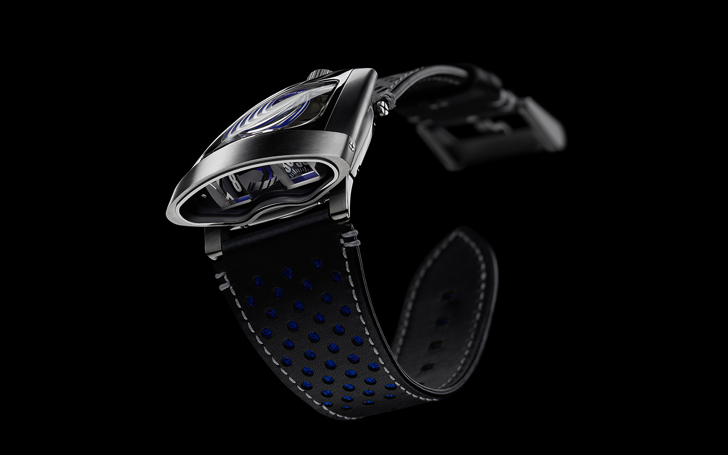 MB&F HMX -Front-Blue