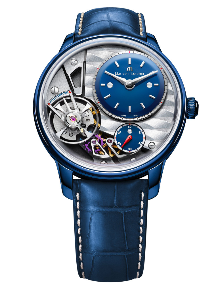 MAURICE LACROIX MASTERPIECE GRAVITY ONLY WATCH 2015