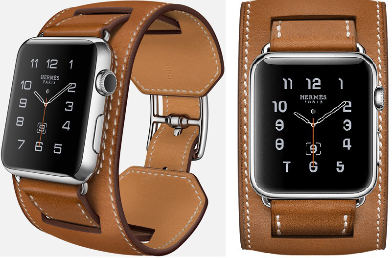 Apple Watch Hermès-Cuff-in-Fauve