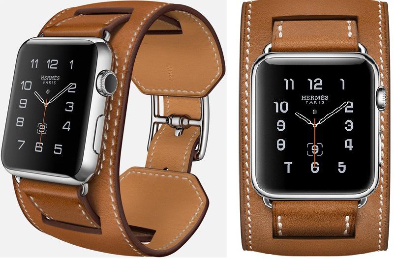 Apple Watch Hermès-Cuff-in-Fauve