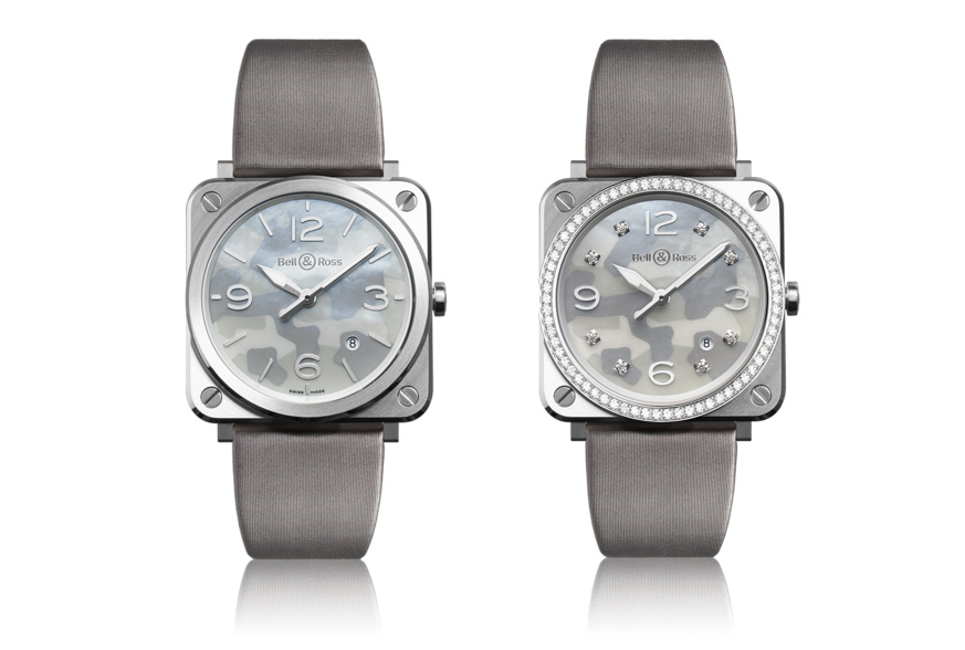 Bell & Ross – BR S Grey Camouflage