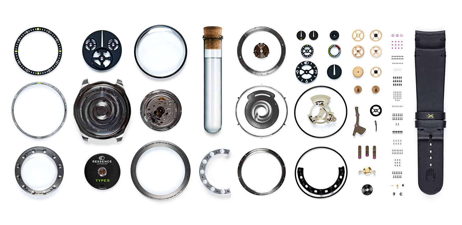 Ressence Type 5 components