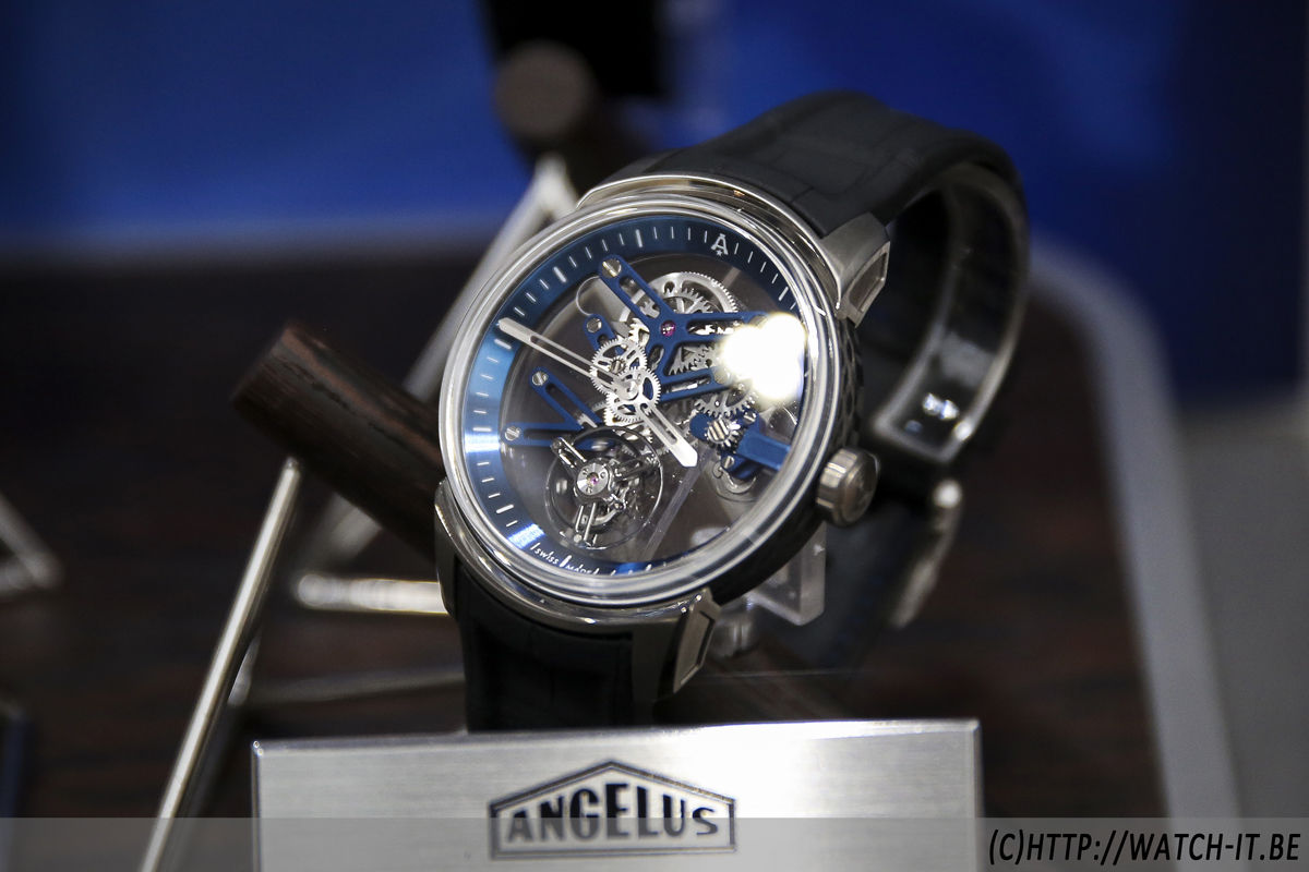 Angelus U20 Ultra-Skeleton Tourbillon-mini