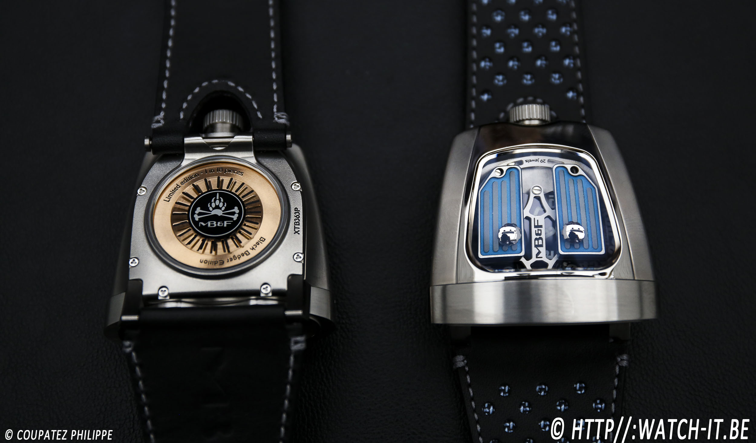 MB&F HMX Black Badger Edition-2