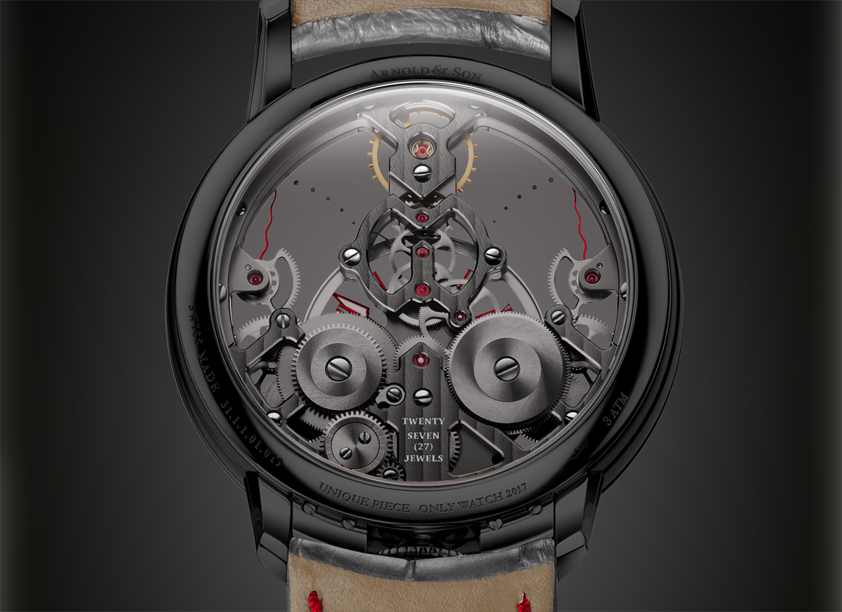 Arnold & Son Time Pyramid pour Only Watch 2017