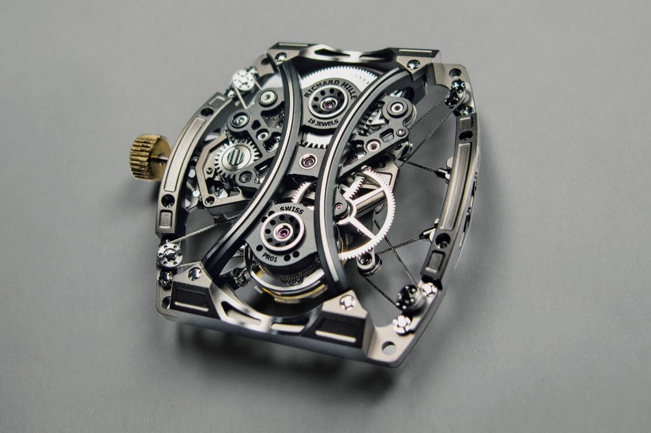 Richard Mille RM 53-01 - mouvement
