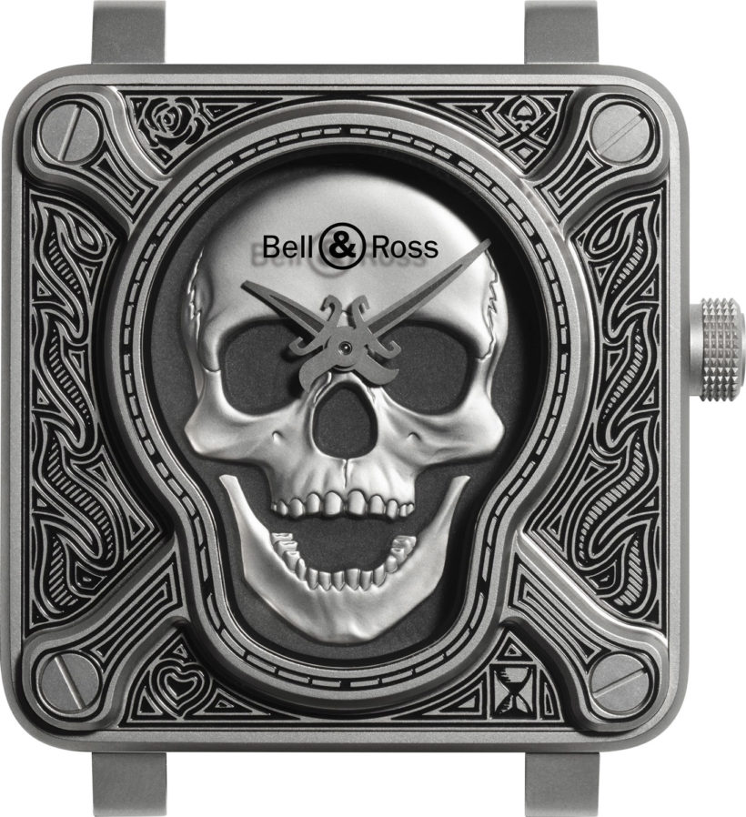 Bell & Ross BR 01 Burning Skull