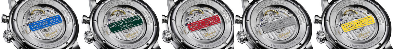 Mille Miglia 2018 Race Edition & Mille Miglia Racing Colours