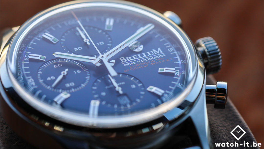 Brellum Duobox Chronomètre Deep Blue