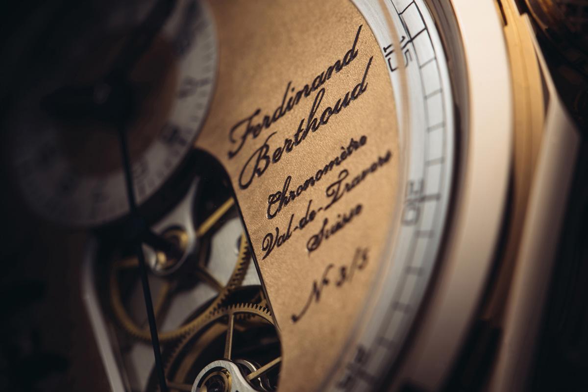 Chronomètre Ferdinand Berthoud FB 1 Oeuvre d'Or