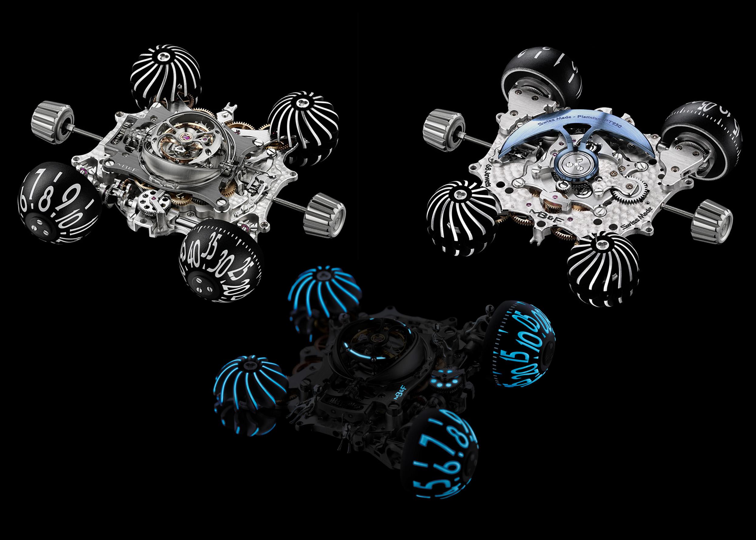 MB&F HM6 motor