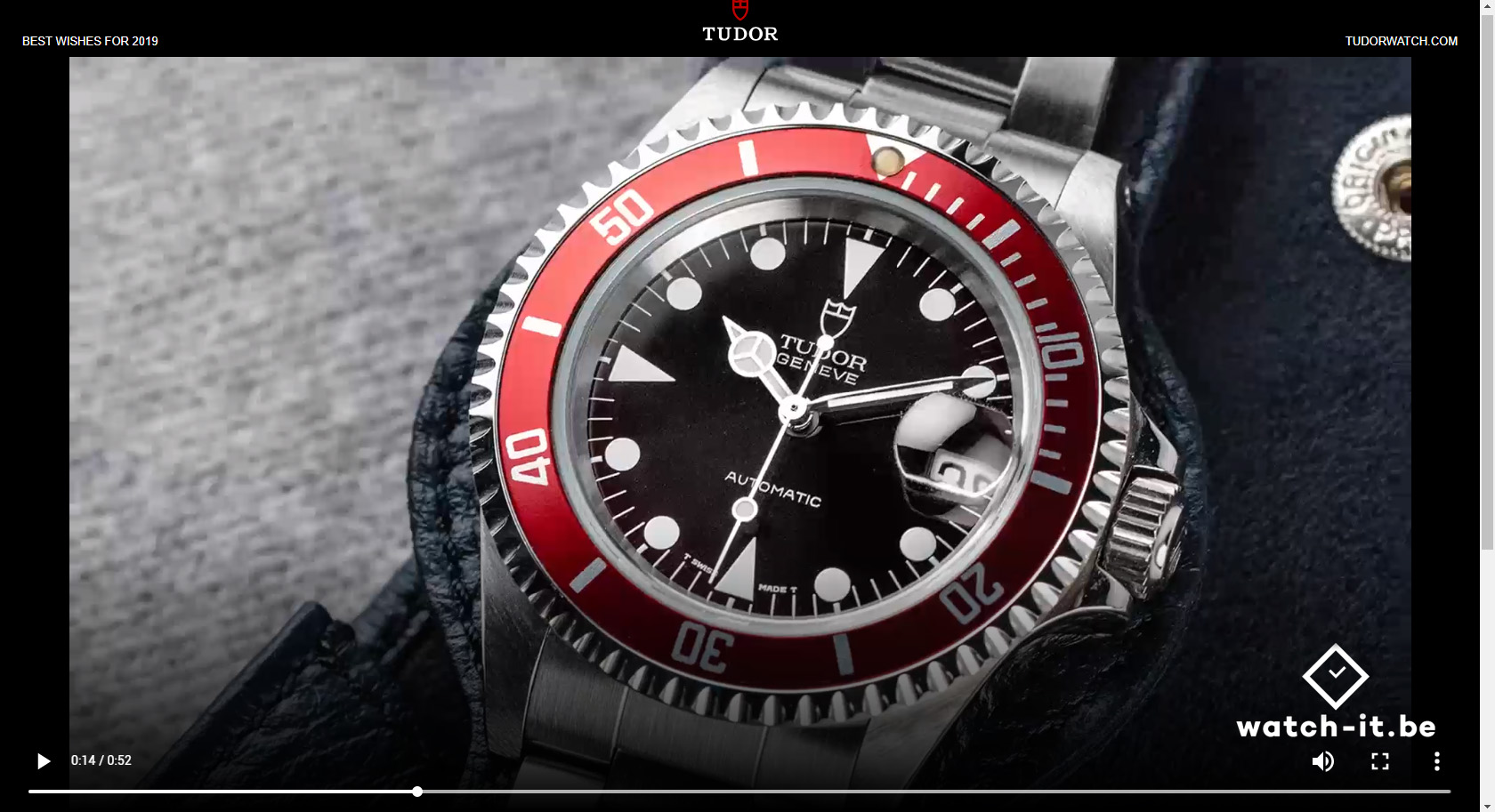 Tudor Submariner Red