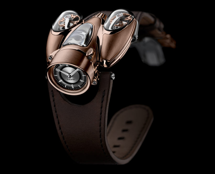 """MB&F Horological Machine No. 9 """"HM9"""" Flow Red Gold"""