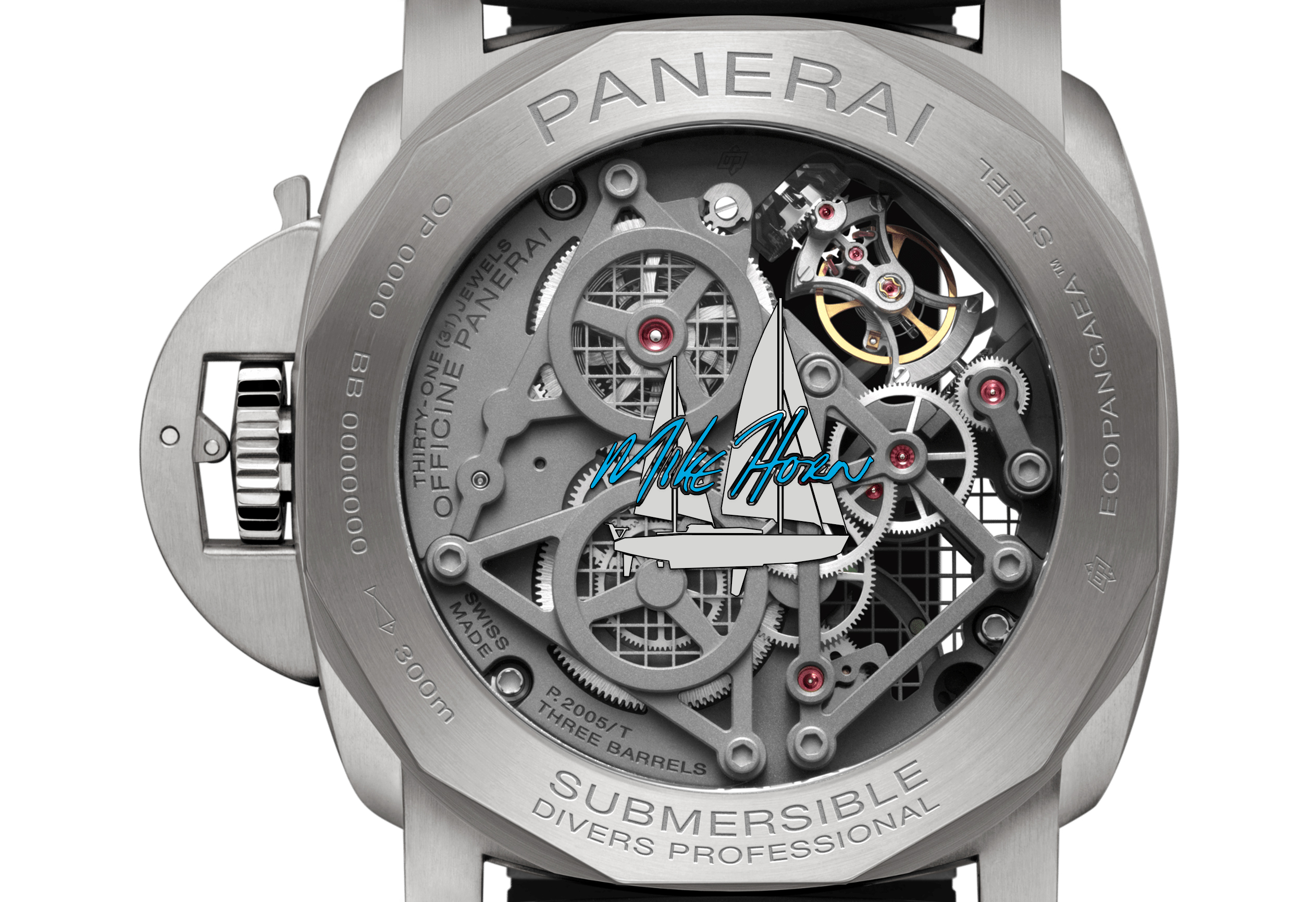Panerai Submersible EcoPangaea™ Tourbillon GMT - 50mm Édition Mike Horn - PAM01108